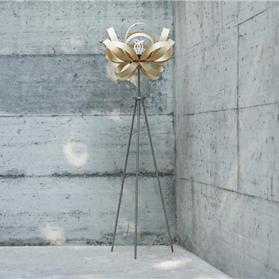 Tom Raffield Bloom Floor Lamp